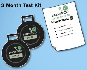 3 Month Radon Test Kit
